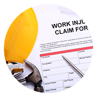 Workers Comp dropdown icon