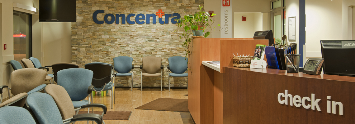About Us Concentra Check In Lobby