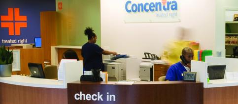 Job Benefits at Concentra