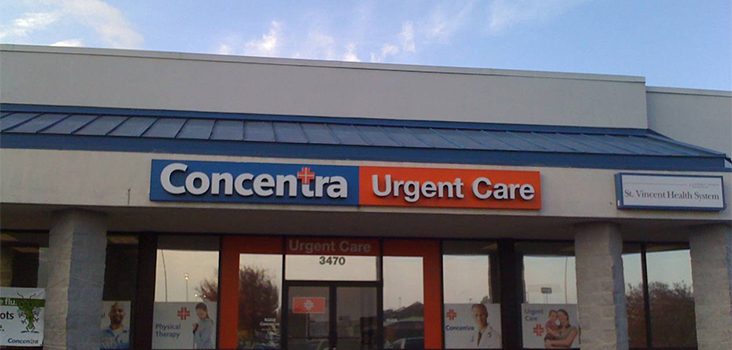Concentra North Little Rock urgent care center in North Little Rock, Arkansas.