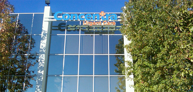 Concentra Anaheim-Orange urgent care center in Anaheim, California.