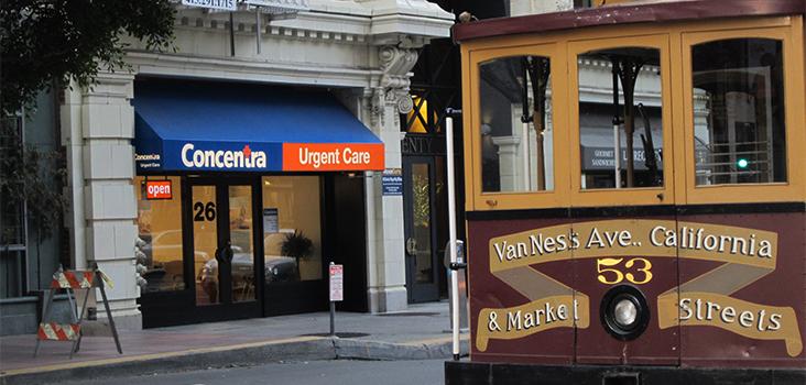 Concentra's Downtown San Francisco Urgent Care Center