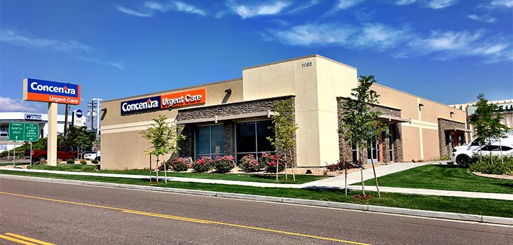 Concentra Lakewood Simms  urgent care center in Lakewood, Colorado.