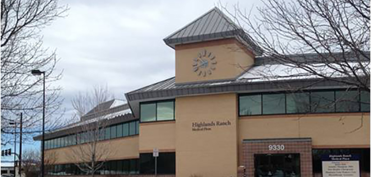 Concentra Highlands Ranch urgent care center in Highlands Ranch, Colorado.