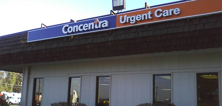 Concentra Moreland urgent care center in Conley, Georgia.