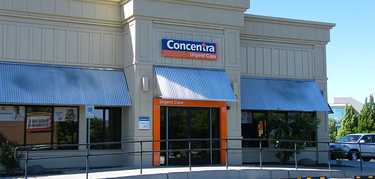 Concentra Reno South urgent care center in Reno, Nevada.