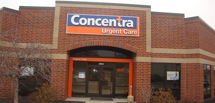 Concentra Sharonville urgent care center in Cincinnati, Ohio.