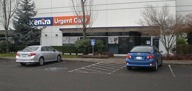 Concentra Swan Island urgent care center in Portland, Oregon.
