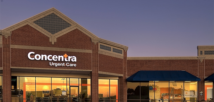 Concentra Burleson  urgent care center in Burleson , Texas.