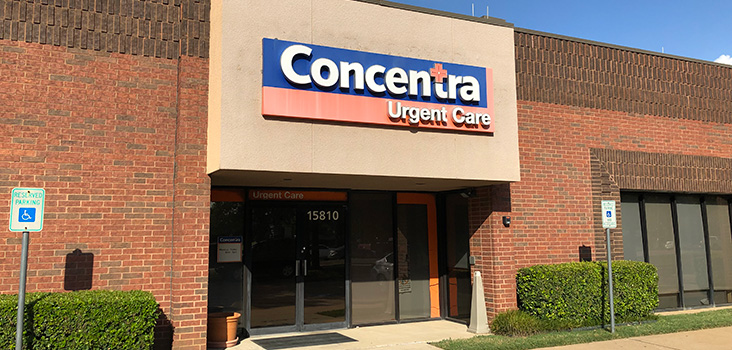 Concentra Addison - DFW urgent care center in Addison, Texas.