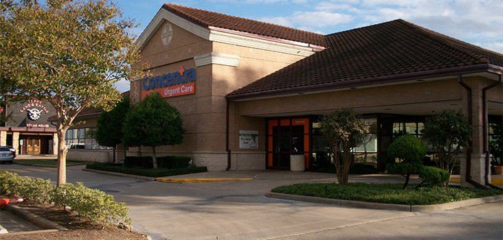 Concentra West Houston Katy Freeway urgent care center in Houston, Texas.