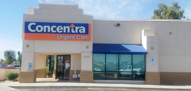 Concentra Estrella urgent care center in Phoenix, Arizona.